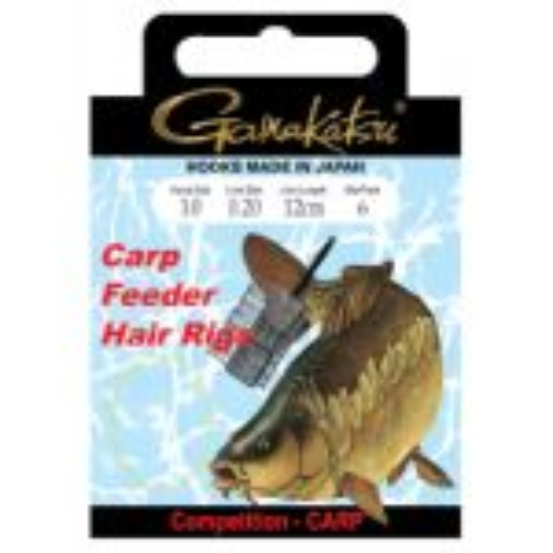 Gamakatsu Bks-3323B Feeder Hair Rigs 40Cm