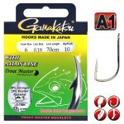 Gamakatsu Trout Master 708N Nylon 70Cm