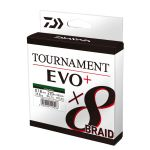 Daiwa Tournament X8 Braid EVO+  Chartreuse 135m